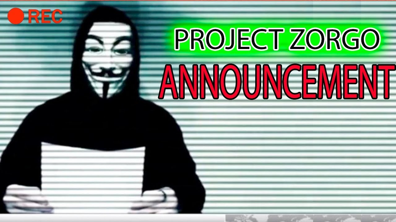 Project Zorgo Announcement Youtube