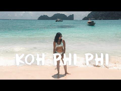 KOH PHI PHI - I jumped off a boat | Thailand Vlog #1 🏝