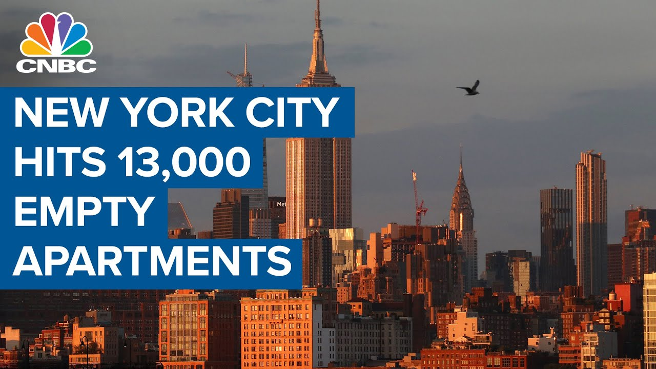 New York City hits 13,000 empty apartments
