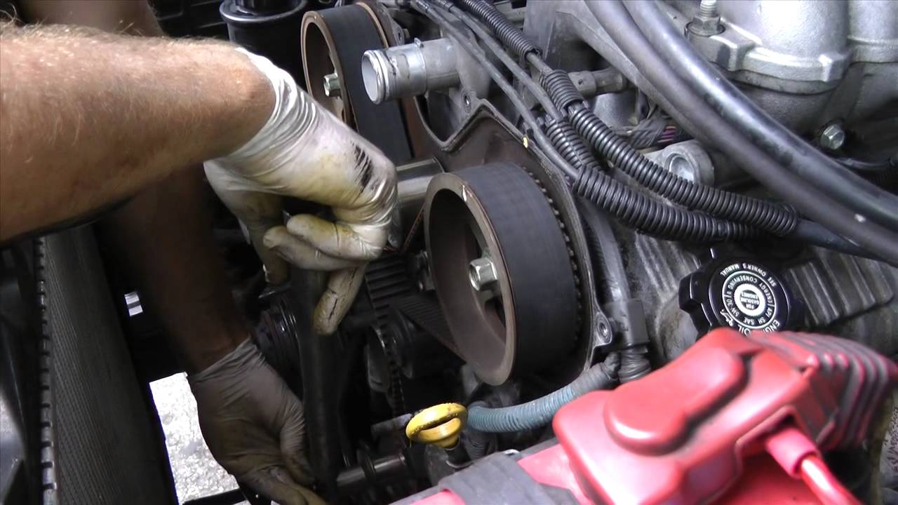 toyota v6 5vzfe timing belt replacement diy part 1 [ 1280 x 720 Pixel ]