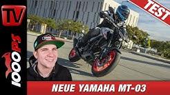Yamaha MT-03 2020 Test - Onboard, Sound, Fazit des neuen A2 Naked Bikes!