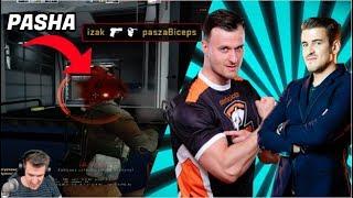 IZAK MECZ Z PASZA BICEPS !!! | WALCZĄ O TOP 10 PPL | PASZA HISTORIA O KORKACH