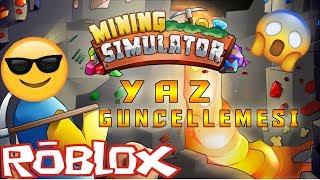 Mining Simulator Yaz Güncellemesi! /Roblox