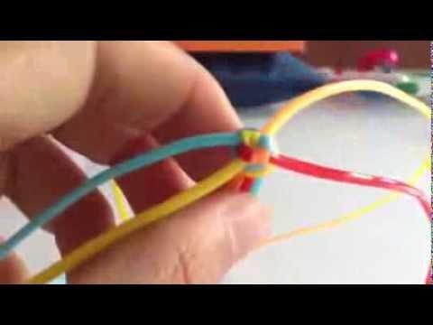 7e1130281268 pulsera cuadrada (FACIL) - YouTube