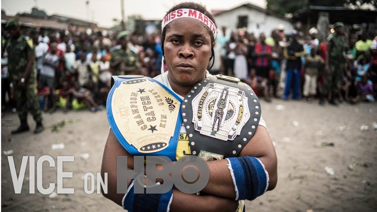 Voodoo Wrestling is Empowering Women in The Congo