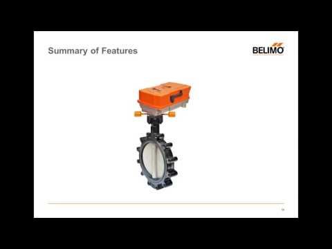The New Belimo Butterfly Valve—Advanced Technology for High