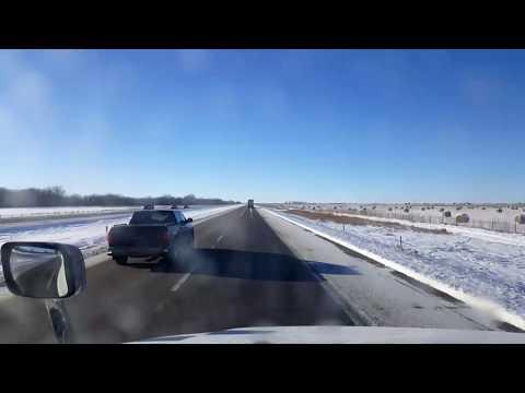 BigRigTravels LIVE! Elm Creek to Sidney, Nebraska Interstate 80 West-Dec. 24, 2017
