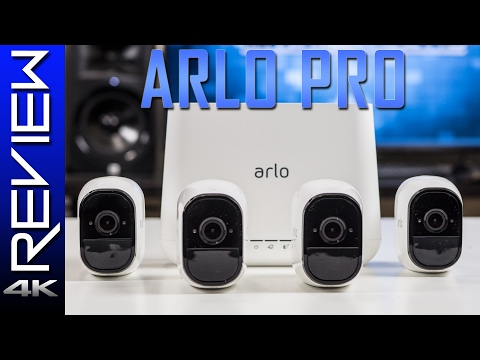 Netgear Arlo Pro Review - Best Wireless Security Camera System?