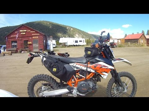 2015 KTM 690Rs ride St. Elmo Loop in Colorado 1 of 3  - Tincup Pass, complete ride