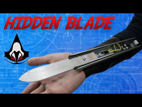Thumbnail: Como Fazer uma Hidden Blade de Assassin's Creed (part. Leandro Fellipe)