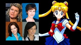 Comparing The Voices - Sailor Moon