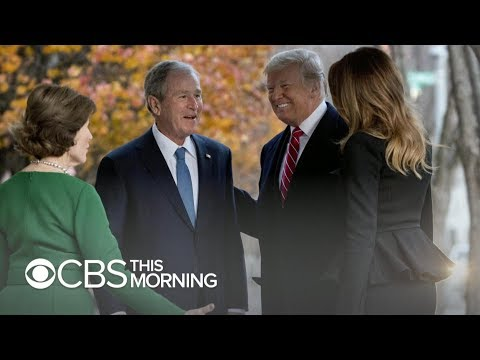 Presidential unity: Trump to attend George H.W. Bush's funeral