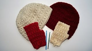 Heklane kape i rukavice (Crochet hats and gloves)