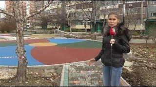 Сквер Кузьменчука рабочие обещают сдать в срок