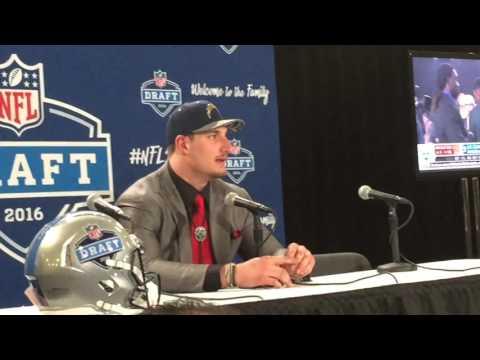 Which first-round NFL Draft pick Buckeyes cried?