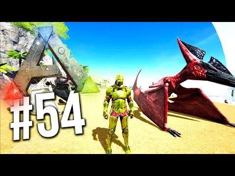 Ark Survival Evolved - FASTEST PTERANODON EVER LEVEL 100! EP 54 (Ark Survival Evolved Gameplay)