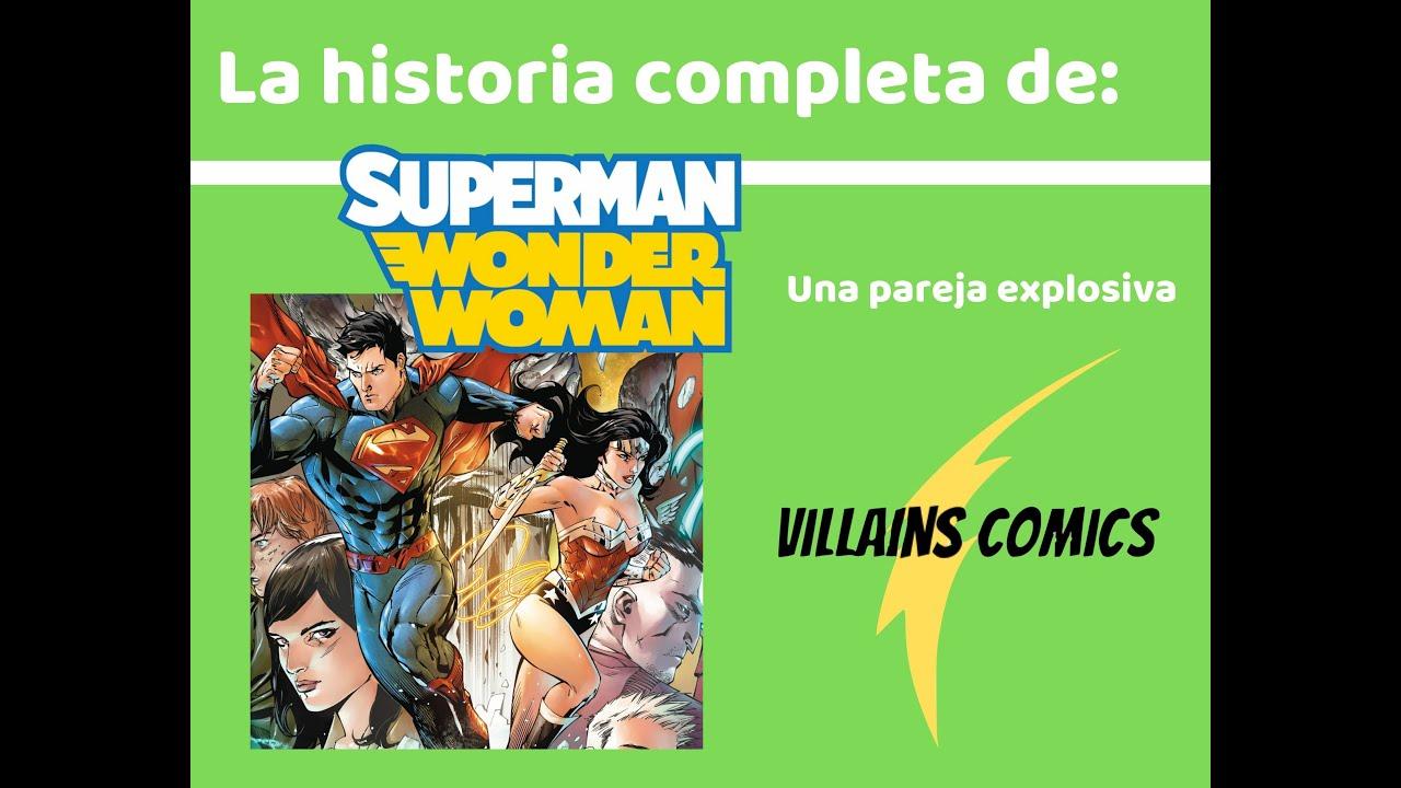 Superman Wonder Woman - Una pareja explosiva