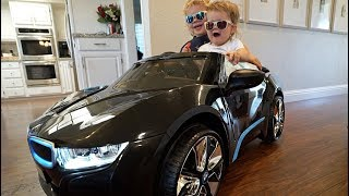 Surprising Our Kids With A NEW TOY CAR!!