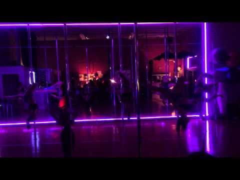 Pole Dance Miami - Open House February 20th 2015 - Advanced Dance with Ashley de la Vega
