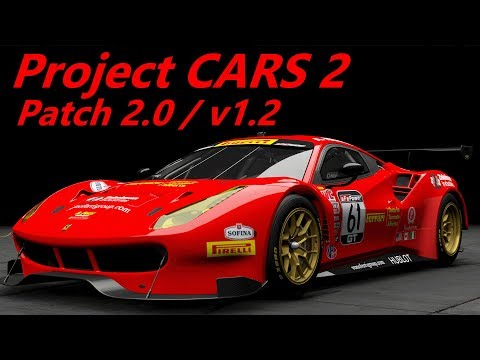 Project CARS 2 - Update 2.0  Version 1.2