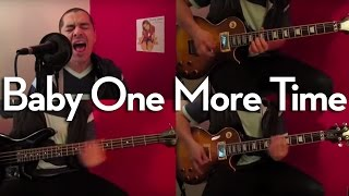 Baby One More Time - Britney Spears (HARD ROCK) Full band cover