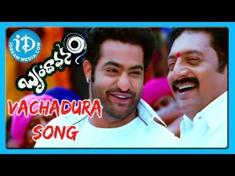 Vachadura Song - Brindavanam Movie Songs - NTR Jr - Kajal Aggarwal - Samantha