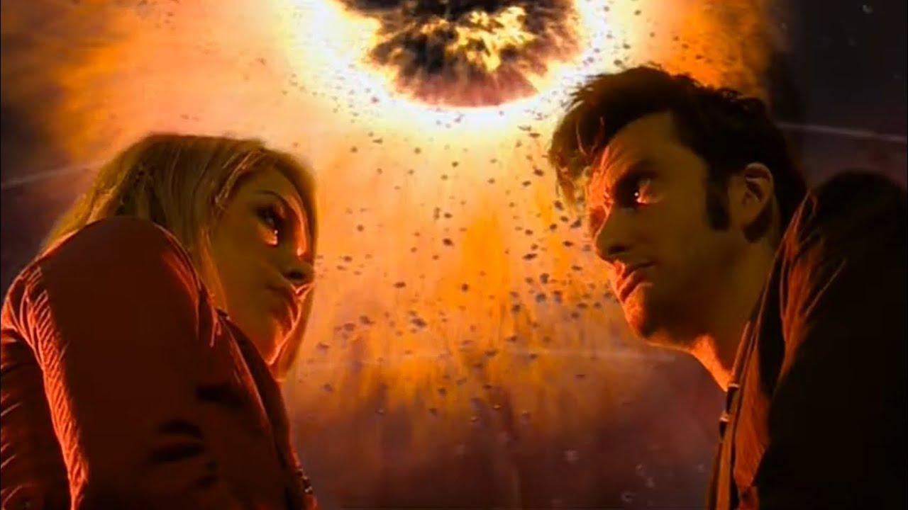 Разговор Доктора и Розы о ТАРДИС и ипотеке   Невозможная Планета   Доктор Кто