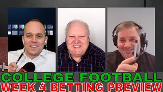 The Best Damn College Football Show | Week 4 Betting Previews | Oklahoma vs WVU | UF vs Tennessee