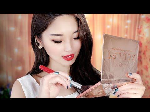 [ASMR] Big Sister Does Your Makeup ~ New Palettes!