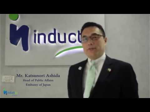 Head of Public Affairs - Embassy of Japan visits Inductin