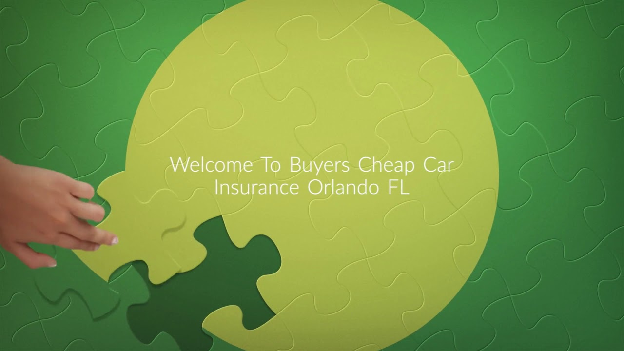 Get Cheap Car Insurance in Orlando FL