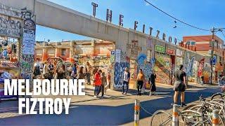 Fitzroy Melbourne Australia Walking Tour