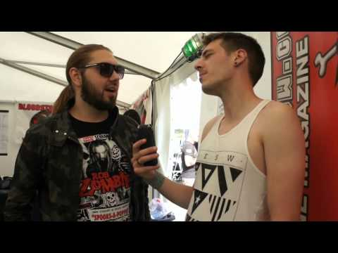 Sabaton Bloodstock Festival Interview 2015