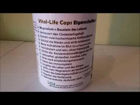 H2 Vital Life Capseln Wasserstofftabletten als Kapsel viel besser