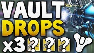 Destiny - VAULT HARD DROPS x3 (Week 8)
