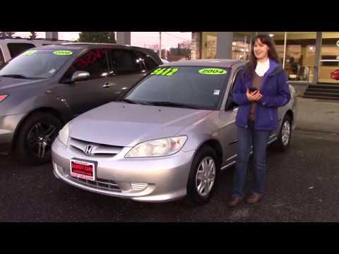 2004 Honda Civic Value Package (Stock #97358) at Sunset Cars of Auburn