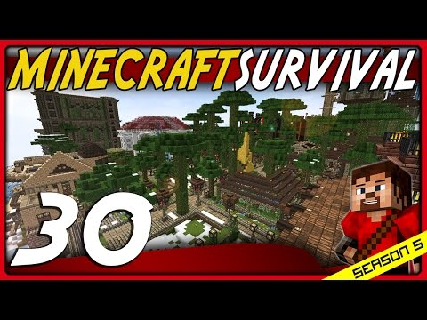 Minecraft Survival 1.11 | Lets Play [S5E30] - The Streets Of Molecity!