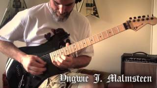 Yngwie Malmsteen - Queen In Love Guitar Cover