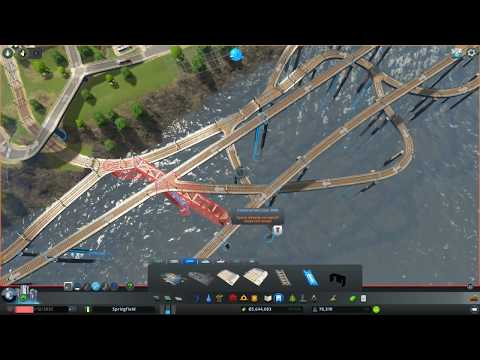 Cities: Skylines : Too Much Cargo Train Traffic -Fixing it (Not Perfect)