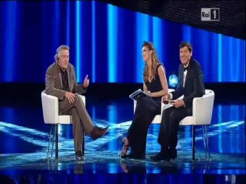 Le origini albanesi di Robert De Niro intervista a Sanremo