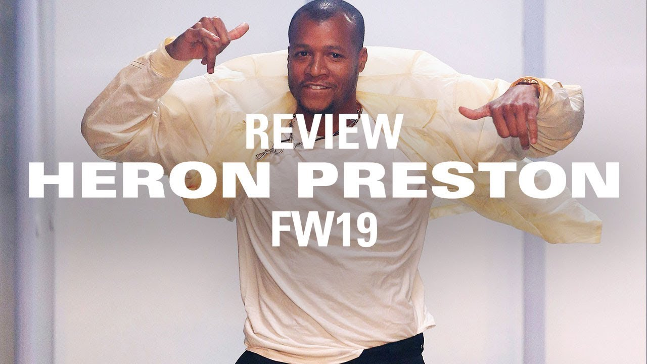 954b49a80ec92 Heron Preston's FW19 Collection: Jerry Lorenzo & More Share Their Thoughts