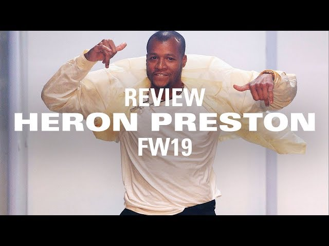 Heron Prestons FW19 Collection: Jerry Lorenzo & More Share Their Thoughts