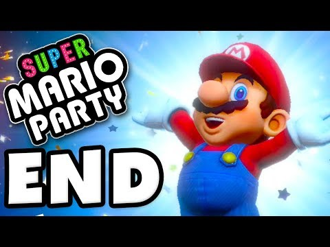 ENDING! All Gems! Challenge Road! - Super Mario Party - Gameplay Walkthrough Part 15
