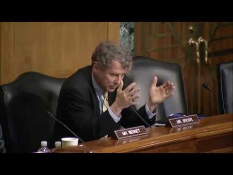 Sen. Brown Speaking at Finance Committee Hearing on Trade Policy