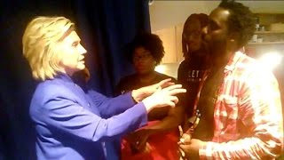 'Black Lives Matter' founders challenge Hillary...