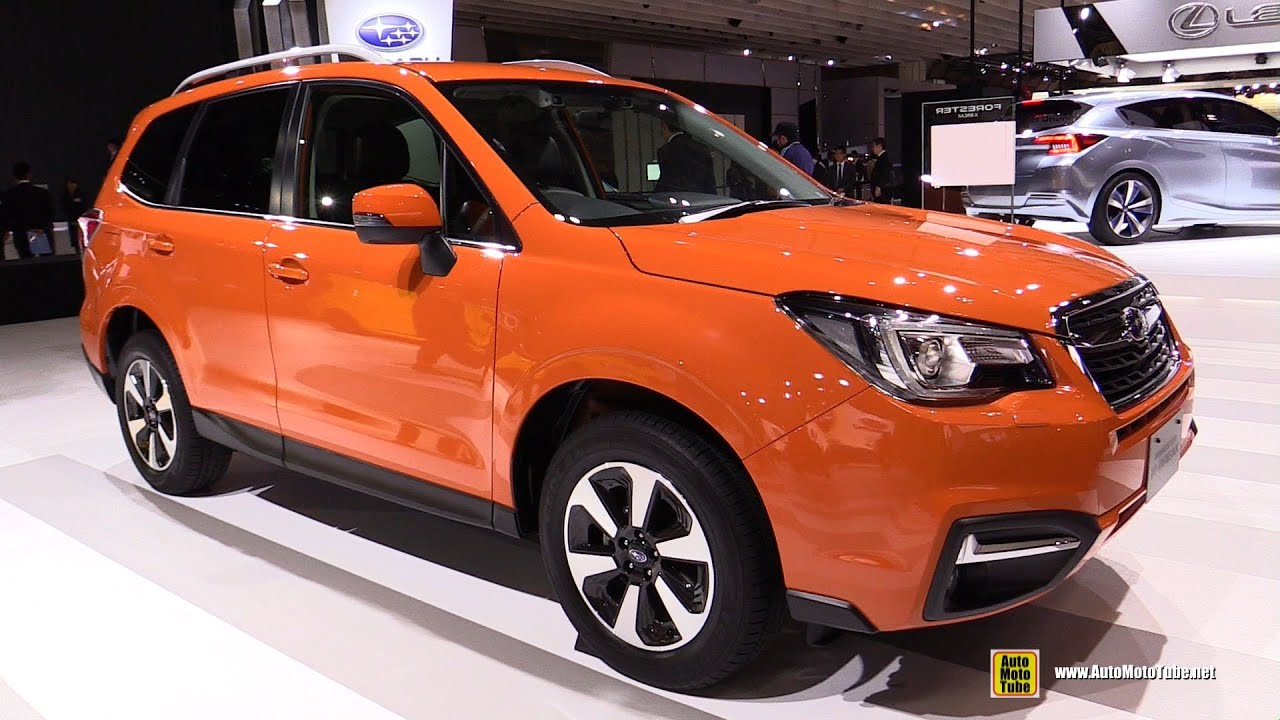2016 Subaru Forester X Break SE Exterior And Interior