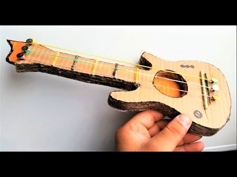 How to make a Cardboard Guitar