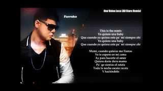 Una Vaina Loca (All Stars Remix) Letra