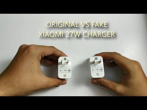 ORIGINAL VS FAKE XIAOMI 27W CHARGER. BEWARE OF FAKE ONE!