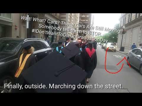 Urban College Of Boston Graduation 2018: My Last Walk with UCB to the Graduation Ceremony